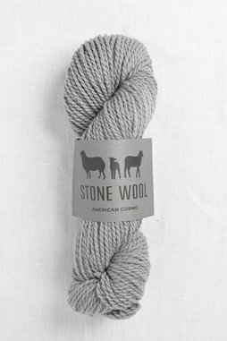 Image of Stone Wool Cormo Shale 02 (50g skein)