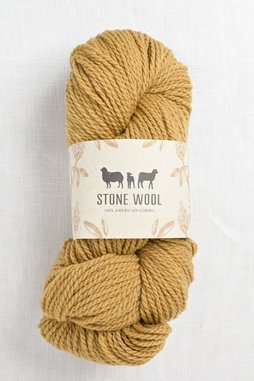 Image of Stone Wool Cormo Tobacco 01 (100g skein)
