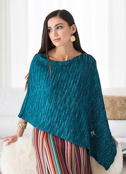 Image of Malabrigo Bluebells Poncho Kit