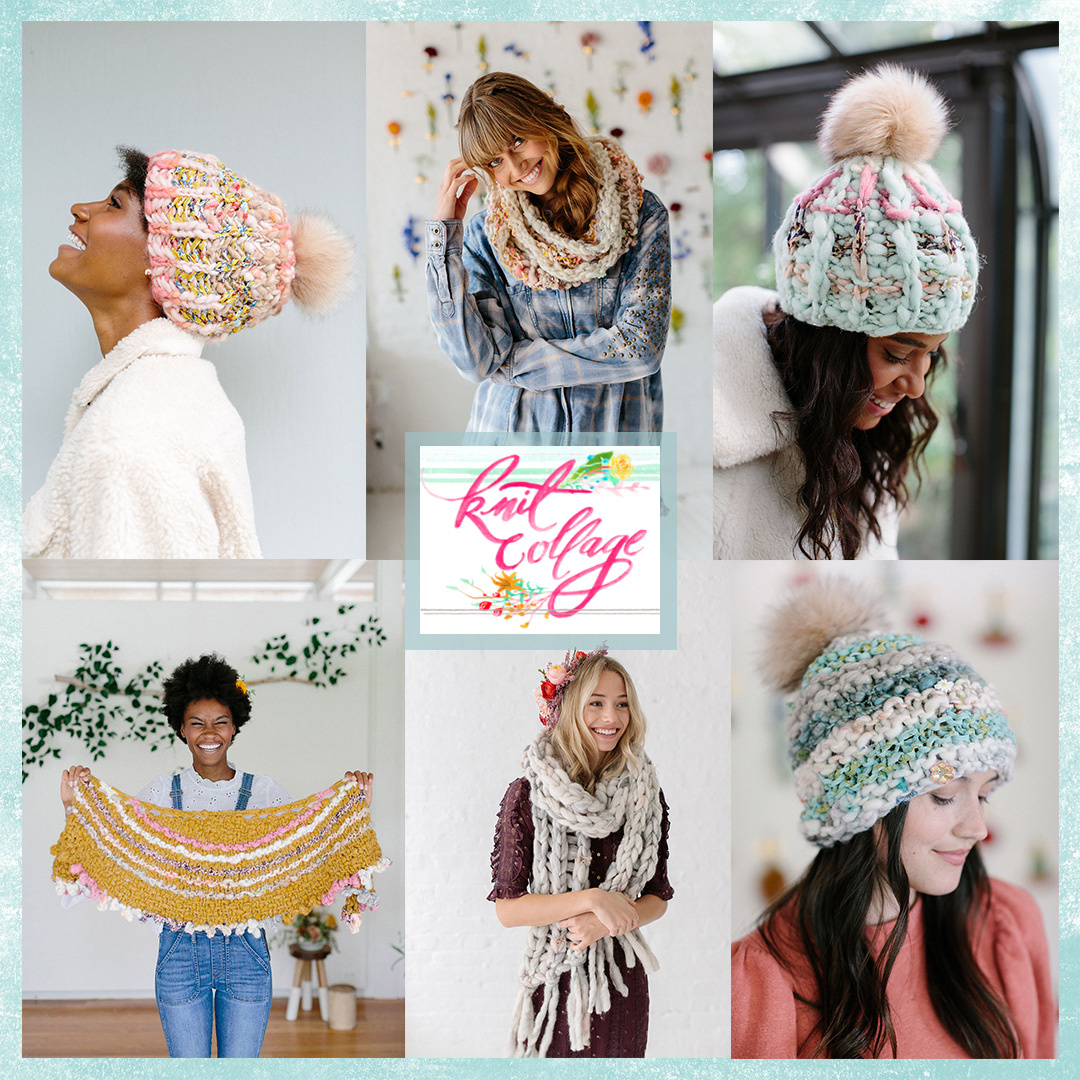 Feature Pattern of the Week - Knit Collage