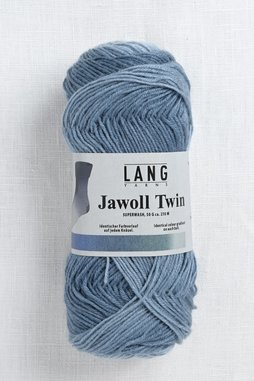 Image of Lang Jawoll Twin 506 Denim to Light Grey Fade