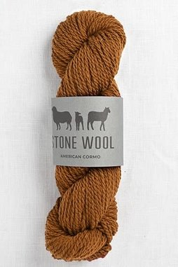 Image of Stone Wool Cormo Tobacco 03 (50g skein)