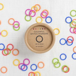 Image of Cocoknits Colorful Stitch Ring Markers, 60 ct.