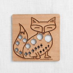 Image of Katrinkles Fox Needle Gauge