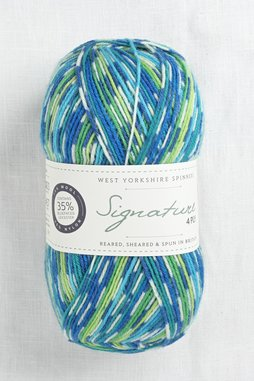 Image of WYS Signature 4 Ply 851 Peacock