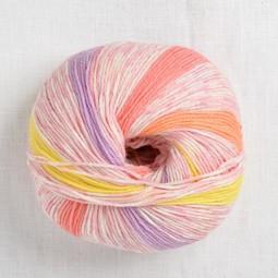 Image of Lang Merino 200 Bebe Color 409 Pink Pastel Stripe