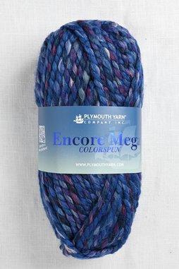 Image of Plymouth Encore Mega Colorspun 7164 Denim Mix