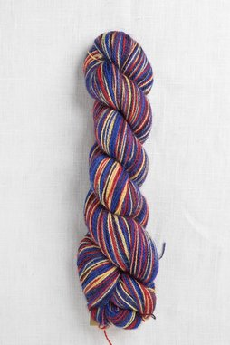Image of Cascade Alpaca Lace Paints 9374 Blue, Red, Yellow (Discontinued)