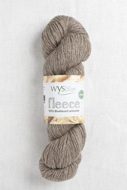 Image of WYS Fleece Bluefaced Leicester Aran 002 Light Brown
