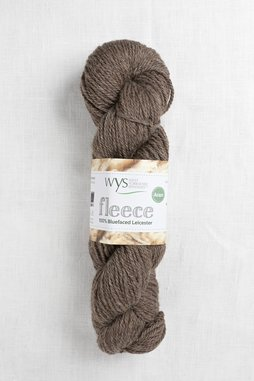 Image of WYS Fleece Bluefaced Leicester Aran 003 Brown