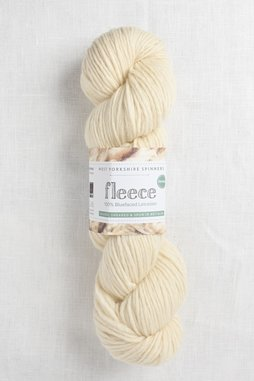 Image of WYS Fleece Bluefaced Leicester Roving 001 Ecru