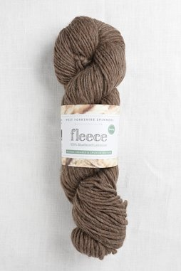 Image of WYS Fleece Bluefaced Leicester Roving 003 Brown