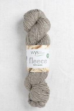 Image of WYS Fleece 100% Jacobs DK 005 Light Grey (Undyed)