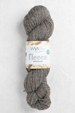 Image of WYS Fleece 100% Jacobs DK 006 Medium Grey (Undyed)