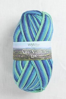Image of WYS Aire Valley DK 831 Blue Lagoon (Discontinued)