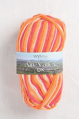 Image of WYS Aire Valley DK 856 Tequila Sunrise (Discontinued)