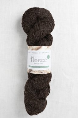 Image of WYS Fleece 100% Jacobs Aran 007 Brown/Black (Undyed)