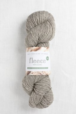 Image of WYS Fleece 100% Jacobs Aran 005 Light Grey (Undyed)