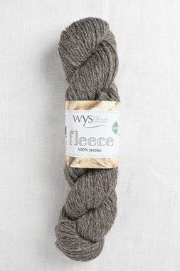 Image of WYS Fleece 100% Jacobs Aran 006 Medium Grey (Undyed)