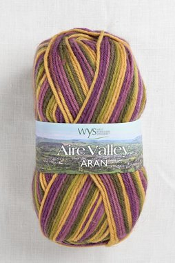 Image of WYS Aire Valley Aran 811 Passion Fruit Cooler (Discontinued)