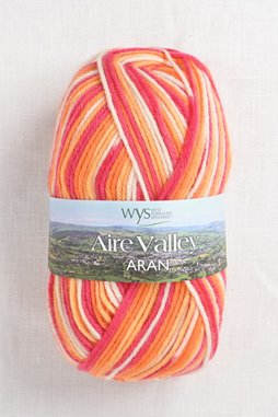 Image of WYS Aire Valley Aran 856 Tequila Sunrise