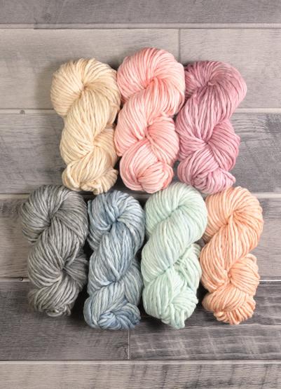Malabrigo Rasta Winter Pastel Collection