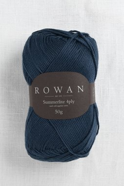 Image of Rowan Summerlite 4Ply 429 Navy Ink