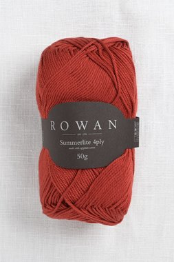 Image of Rowan Summerlite 4Ply 441 Rooibos