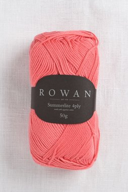 Image of Rowan Summerlite 4Ply 442 Coral Blush