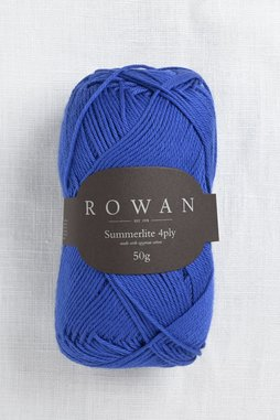 Image of Rowan Summerlite 4Ply 447 Cobalt