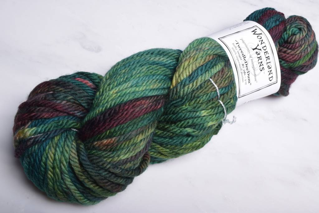 Image of Wonderland Yarns TweedleDeeDum 123 July