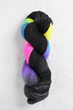 Image of Madelinetosh Tosh Merino Light Black Rainbow