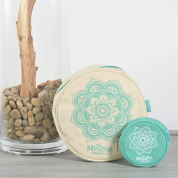Image of Knitter's Pride Mindful Collection Twin Circular Bags (set of two)