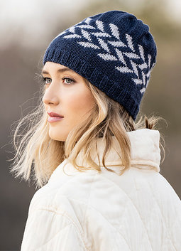 Image of Blue Sky Fibers Hillsdale Hat Kit