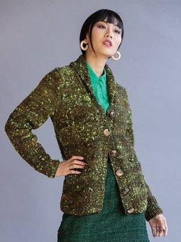 Image of #01 Shawl Collar Jacket