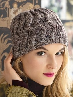 Image of #14 Zig Zag Cable Hat