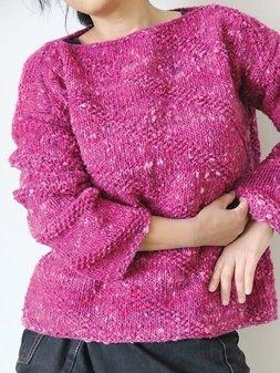 Image of #25 Slant Stitch Pullover