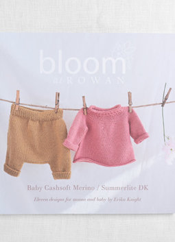 Image of Bloom at Rowan; Baby Cashsoft/Summerlite DK: Eleven Designs for Mama & Baby by Erika Knight