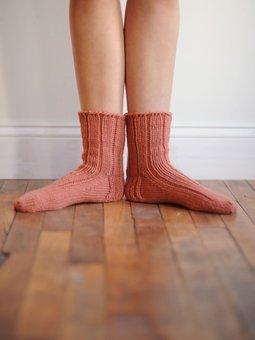 Image of Ann's 5-gauge socks