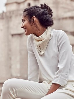 Image of Blanca Triangle Scarf
