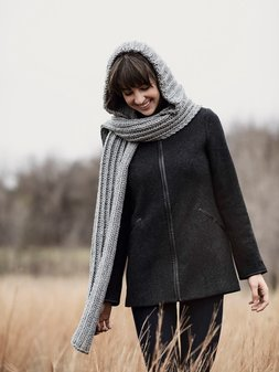 Image of Breezy Point Hood Scarf