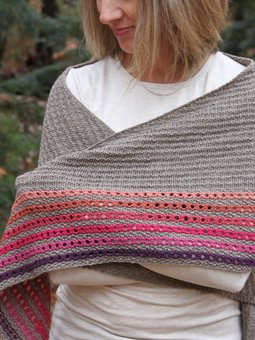Image of Brownfield Shawl