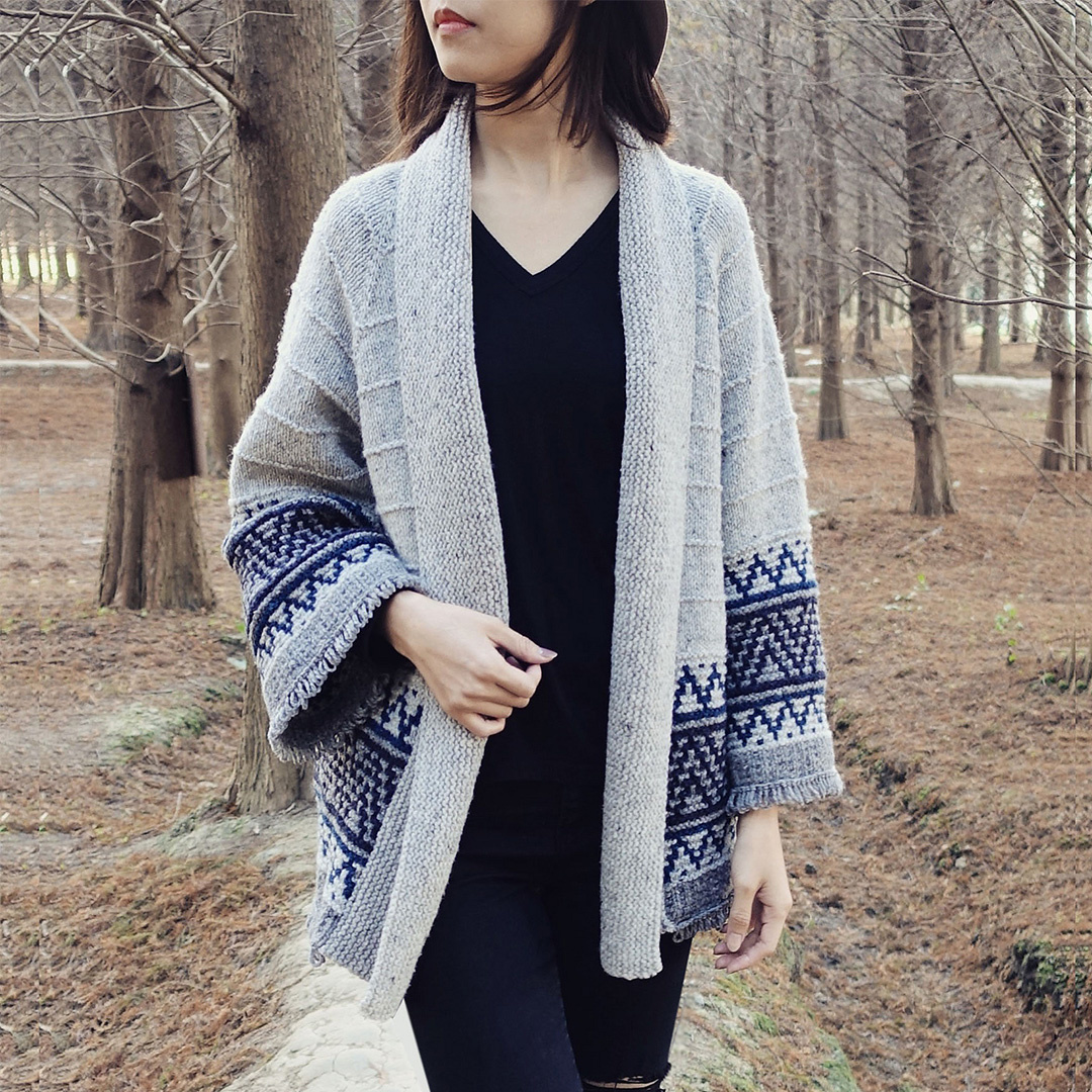 Feature Pattern of the Week - Boho Style Mosaic Cardigan