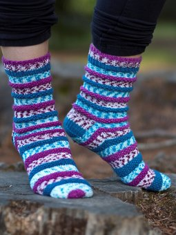 Image of Popp'in Prints Socks