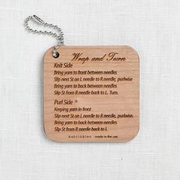 Image of Katrinkles Wrap & Turn Instruction Fob