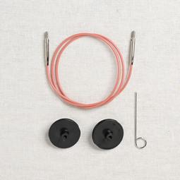 Image of Lykke Pink Swivel Interchangeable Needle Cord