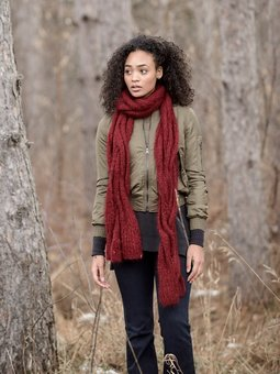 Image of Callaway Cable Scarf