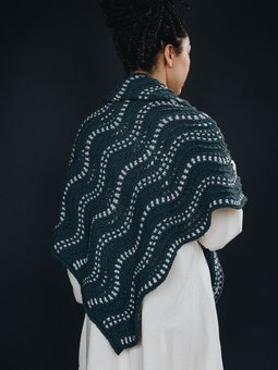 Image of Continuous Wave Shawl