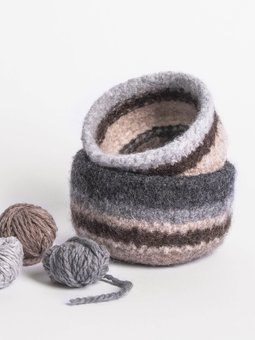 Image of Fairmont Felted Bowls