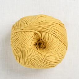 Image of Wool and the Gang Shiny Happy Cotton 177 Chalk Yellow